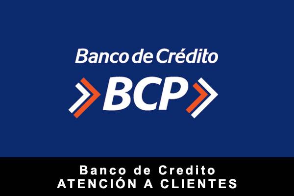 teléfono de BCP