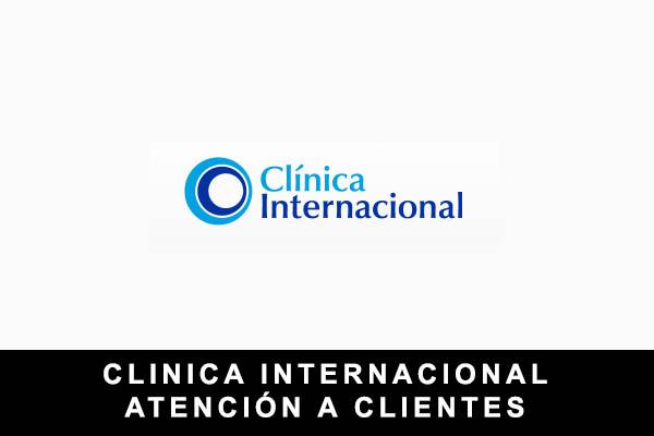 teléfono de Clínica Internacional