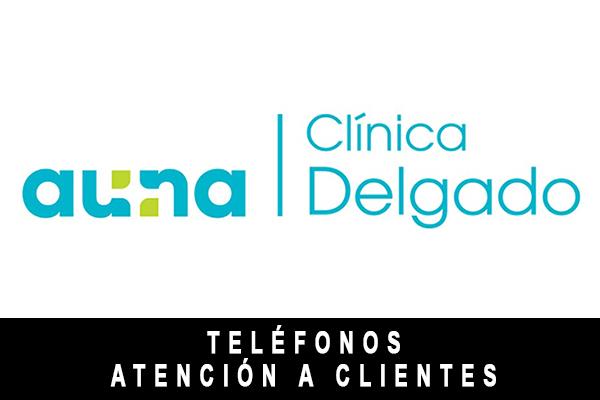 teléfono de Clínica Delgado