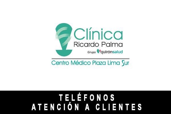 teléfono de Clínica Ricardo Palma