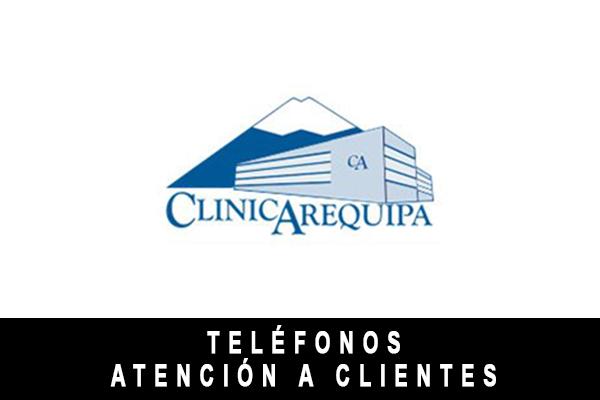 teléfono de Clínica Arequipa