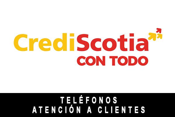 teléfono de CrediScotia