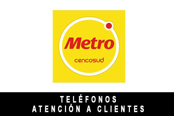 teléfono de Metro