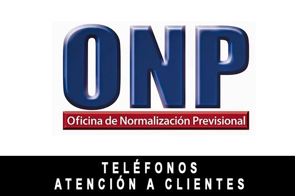 teléfono de ONP