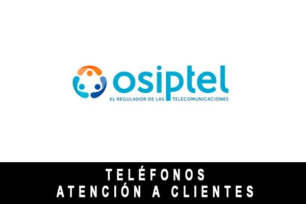 teléfono de Osiptel