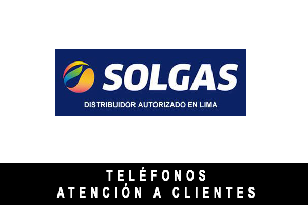 teléfono de Solgas