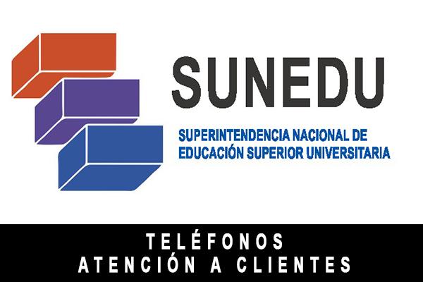 teléfono de SUNEDU